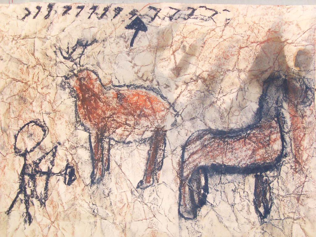Caveman Art Ks2 : Cave paintings powerpoint ks the best