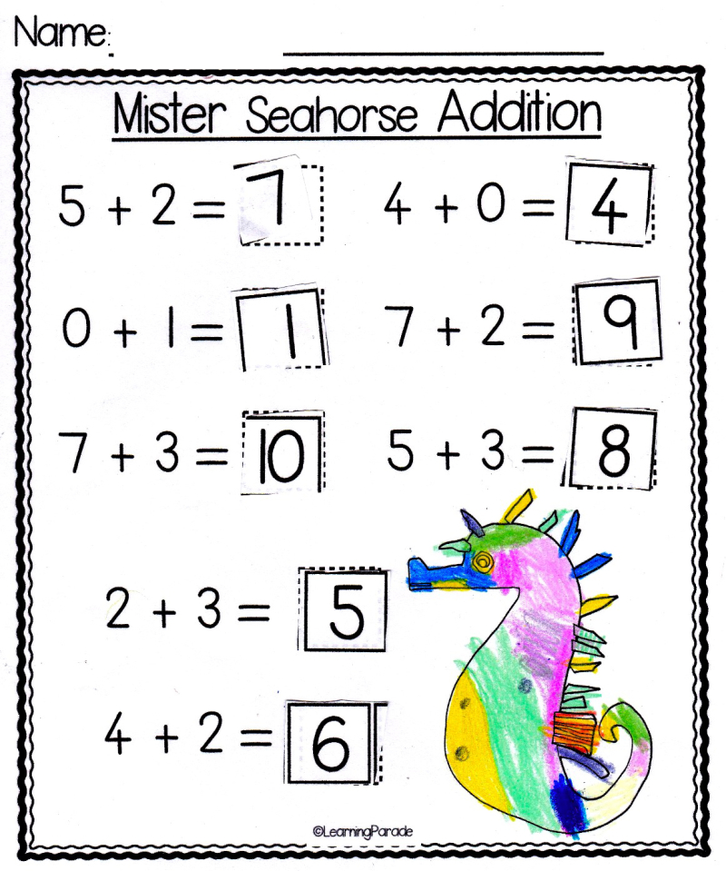 Eric carle mister seahorse addition