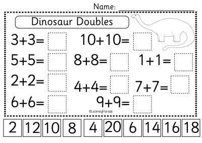 DinosaurMath